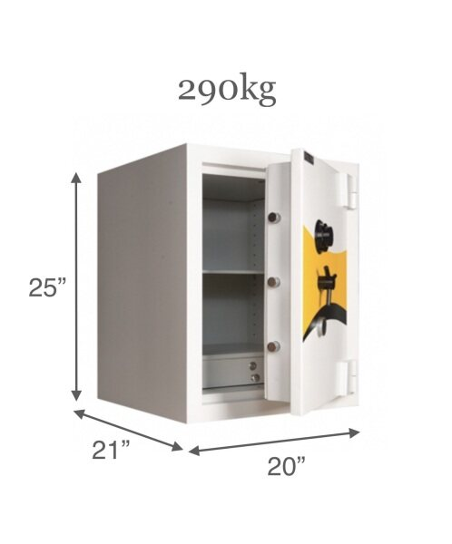 Falcon Euro Safety Box ES250 / Home Safe Box / Office Safe Box / Peti Besi / Heavy Duty 290kg (within 7-30 days delivery)