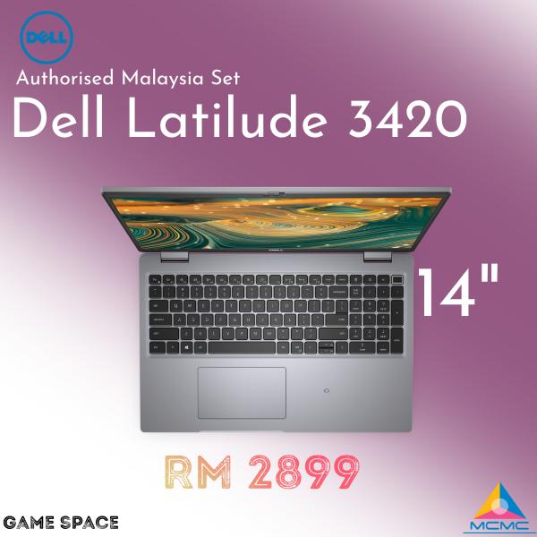 Dell Latitude L3420   14-inch Laptop Black Malaysia
