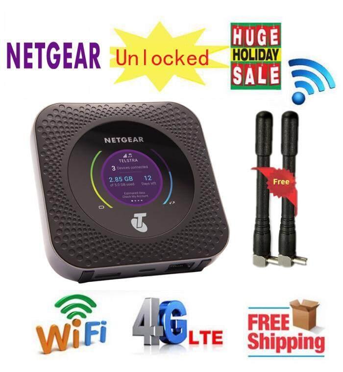 Unlocked NEW Netgear Nighthawk M1 MR1100 CAT16 4GX Gigabit LTE Mobile  Router WiFi Hotspot Router With Antenna