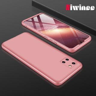 Dành Cho Samsung Galaxy Note 10 Lite 360 Bảo Vệ Toàn Bộ Ốp Điện Thoại Bằng Nhựa Cứng Siêu Mỏng 3 Trong 1 thumbnail