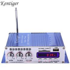 HY502 Âm Thanh Xe Hơi Bộ Khuếch Đại Tín Hiệu 12V Mini 2CH Siêu Trầm Máy Nghe Nhạc Kỹ Thuật Số Bộ Khuếch Đại Công Suất Hỗ Trợ USB MP3 FM Hi-Fi