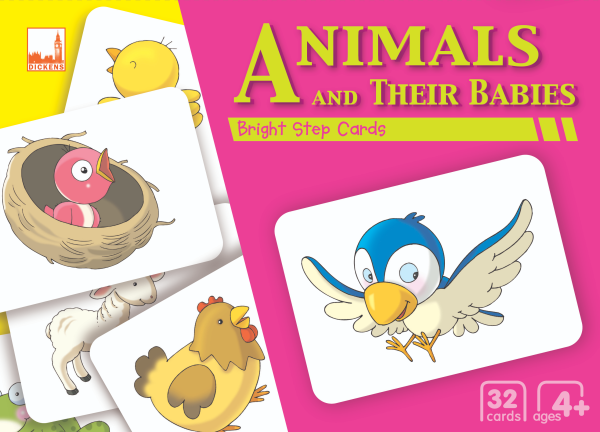 Pelangibooks Dicken Bright Step Cards - Animals and Their Babies Malaysia