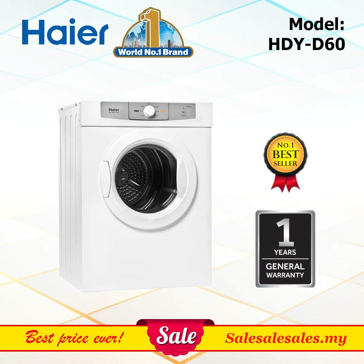 Haier HDY-D60 Tumble Dryer 6kg Cloth Dryer Pengering Kain