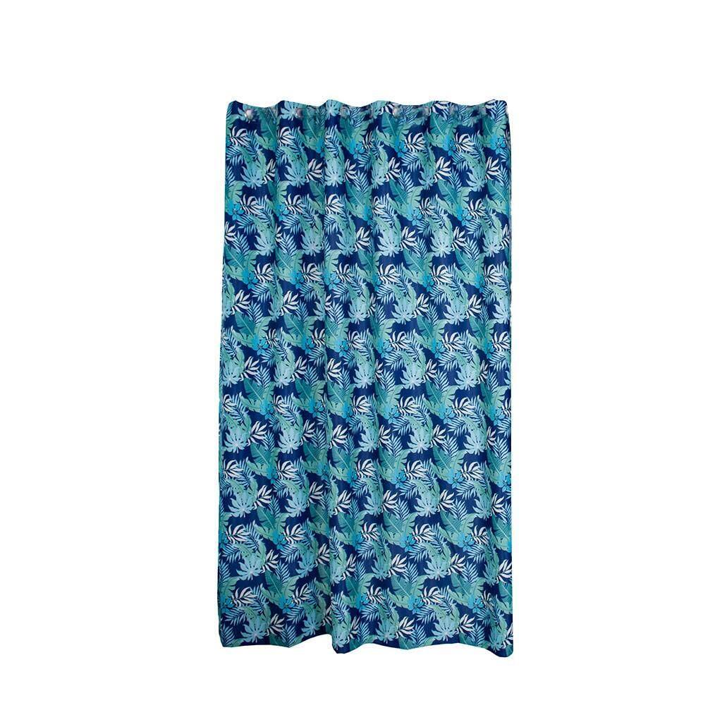 (Matatatshop) Leaves Curtain Tulle Window Treatment Voile Drape Valance 1 Panel Fabric