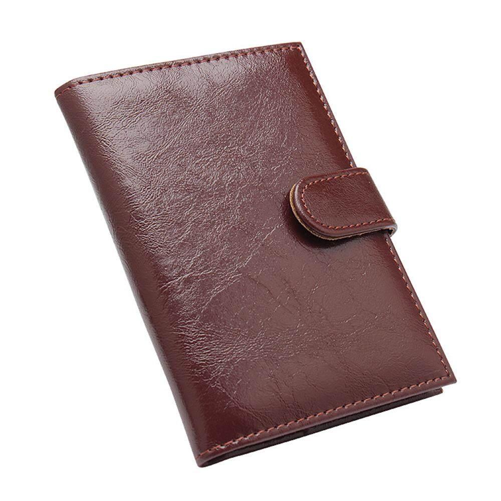 Giá Tiết Kiệm Để Sở Hữu Ngay Kinh Doanh Ví Da Đựng Hộ Chiếu PU Passport Quyển Sách Khóa Tai Cầm Tay Đựng Thẻ Trọn Gói