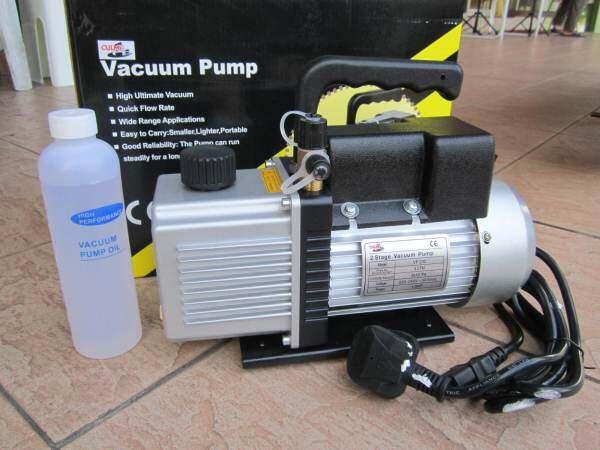 Culmi 1/2HP 4.0CFM (15 microns) Dual Stage Vacuum Pump