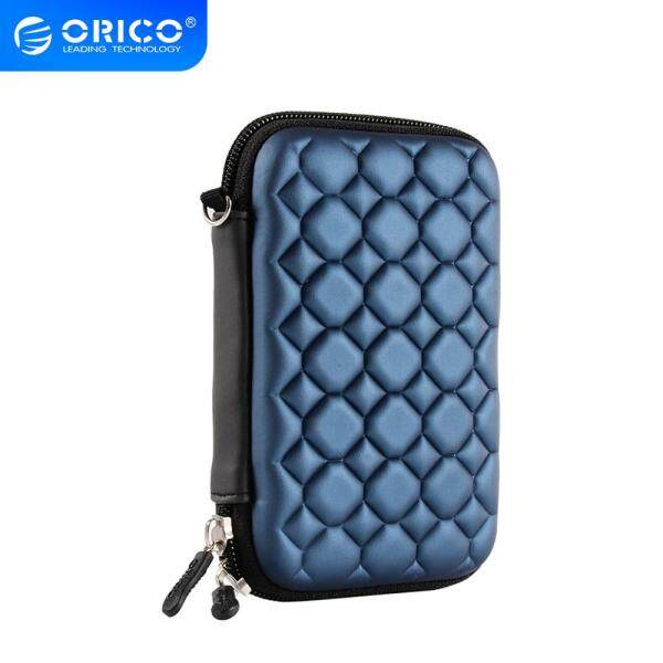 ORICO Blue 2.5  External Portable Hard Disk Protection Bag SSD Pouch for 2.5 inch HDD case Data Cable for SEAGATE HDD