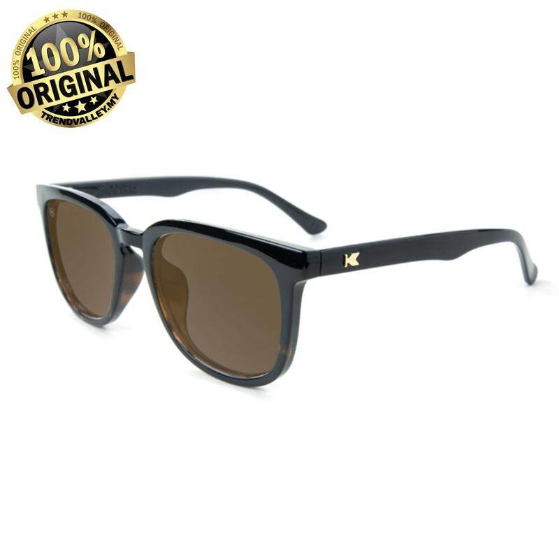 85ab27291a Knockaround Paso Robles Glossy Black and Tortoise Shell Fade   Amber Polarized  Sunglasses