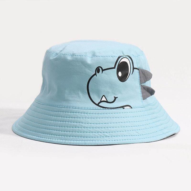 Baby & Toddler Clothing Children Boys Cartoon Dinosaur Bucket Hat Cotton Summer Beach Kids Baby Sun Cap