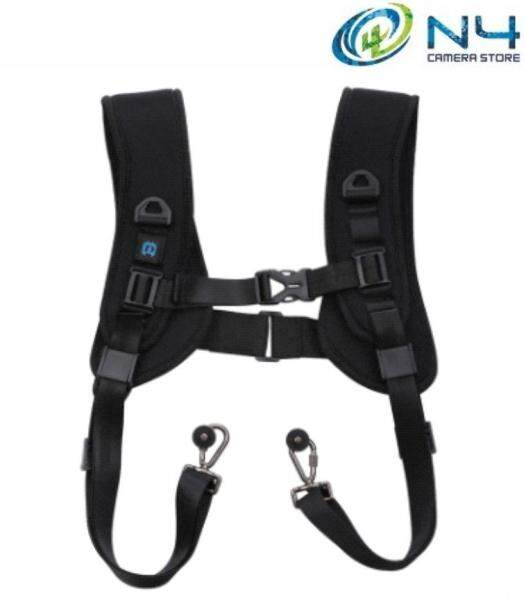 PULUZ Double Strap Quick Release Double Shoulder Harness Soft Pad Decompression Foam Strap Belt for DSLR Digital Camera (Ship from Malaysia) Malaysia