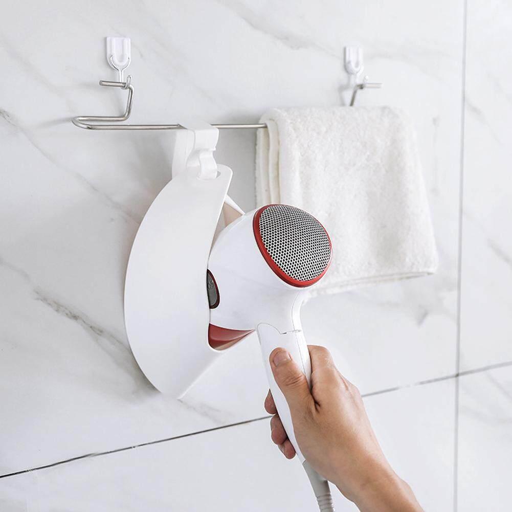 LF Hair Dryer Holder Organizer U-Shaped Dryer Rack Plastic Storage Rack Hook  Household Bathroom