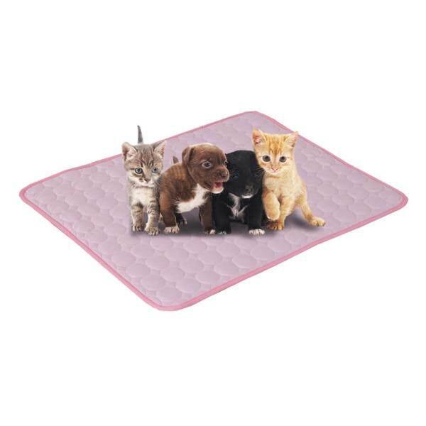 Pet Mat Mèo Chó Băng Pad Cảm Giác Lạnh Băng Lụa Pad Mùa Hè Cũi Mat Sofa Đệm LX