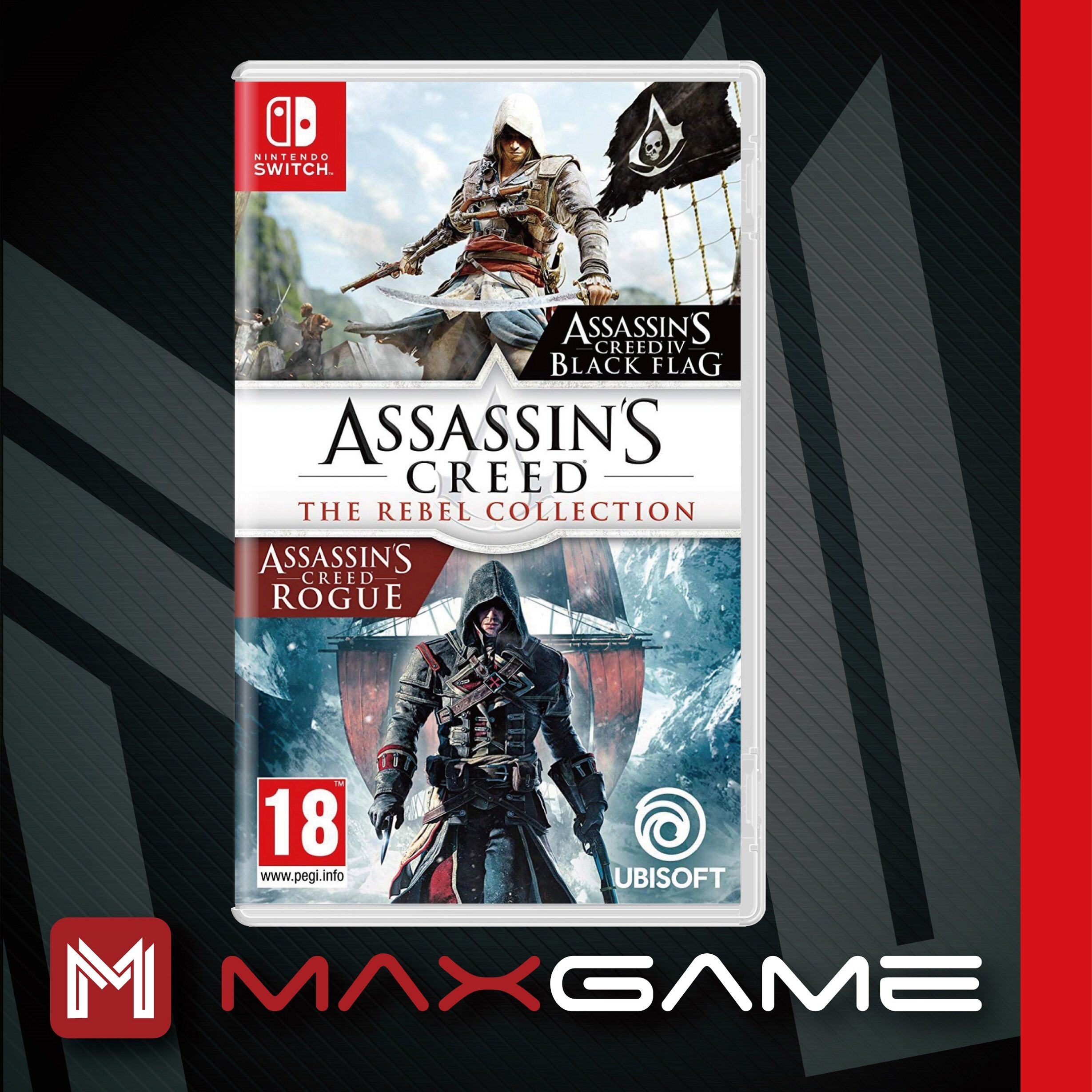 Nintendo Switch Assassins Creed The Rebel Collection English