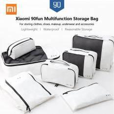 Xiaomi Túi Đựng Đồ Du Lịch Đa Năng 90fun Quần Áo Trang Điểm Rửa Túi, Mỹ Phẩm Trường Hợp Phụ Kiện Container Organizer Túi Đựng Đồ Văn Phòng Đồ Lót Giày