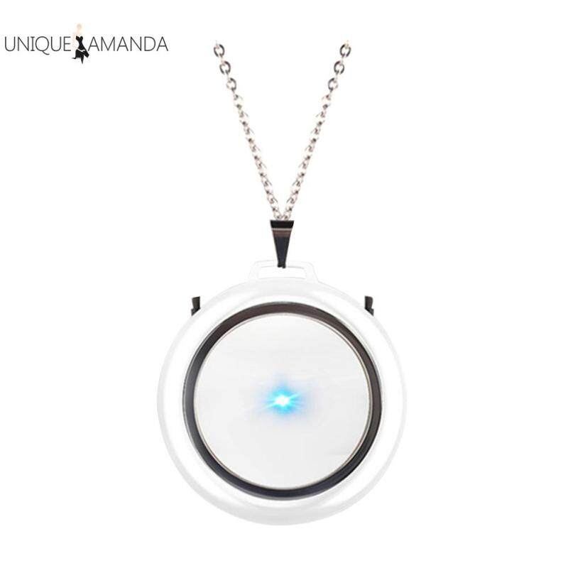 Wearable Air Purifier Necklace Portable USB Mini Air Cleaner Negative Ion Generator Air Freshener Singapore