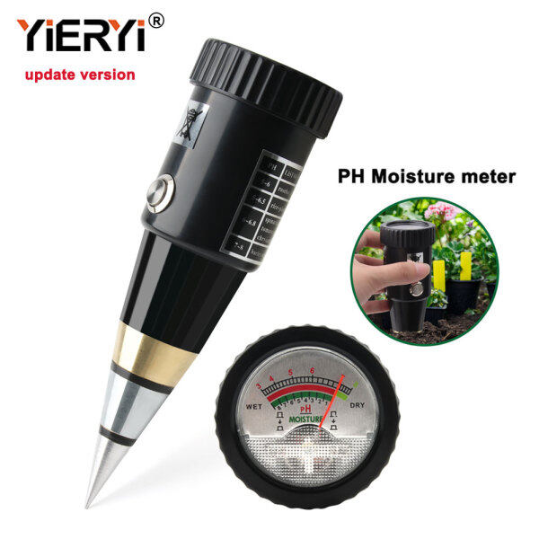 yieryi New VT-05 Pointer Garden Clay Humidity Meter With PH Clay soil PH Tester Hygrometer