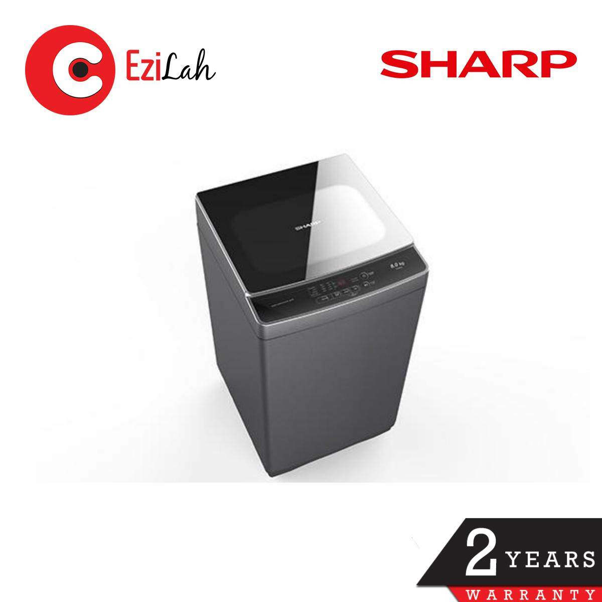 Sharp ESX858 8KG Top Load Washing Machine