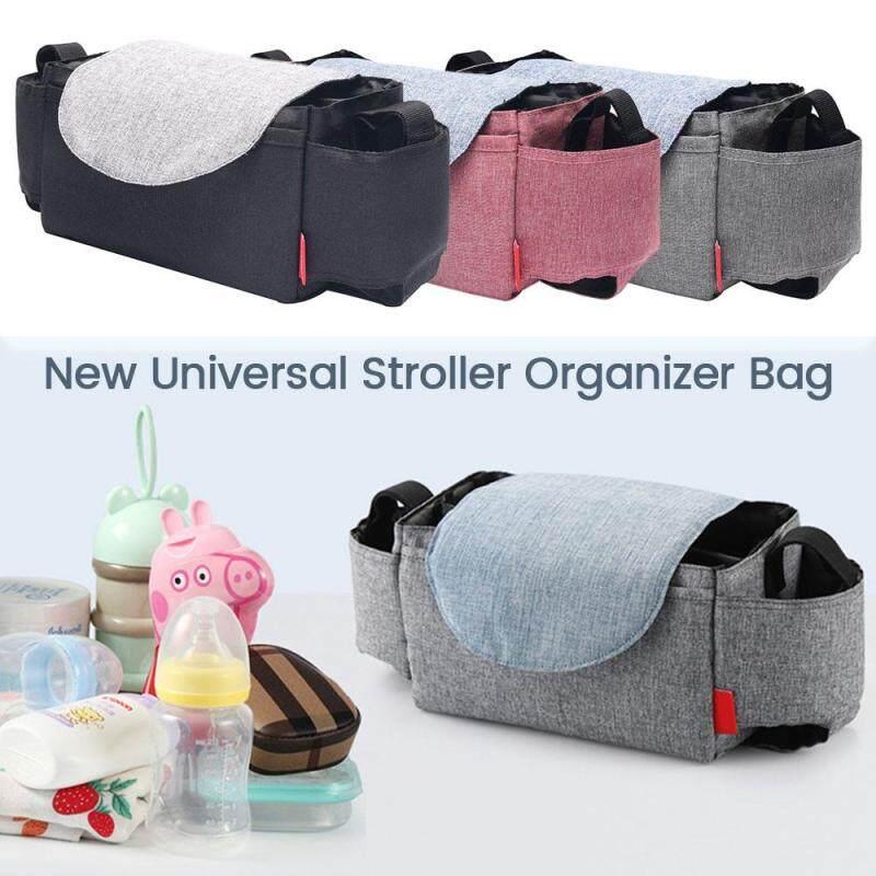 Stroller Pram Pushchair Baby Organiser Cup Bottle Holder Mummy Bag Storage Buggy Singapore