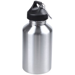 2000ML Stainless Steel Drinking Water Bottle Cycling Camping Hiking Silver thumbnail