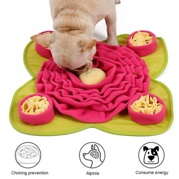 Pet Carer Phong Cách Mới Chó Cưng Đào Tạo Mat Đào Tạo Chậm Cho Ăn Câu Đố Chăn Tìm Kiếm Và Giải Nén Đồ Chơi Snuffle Mat