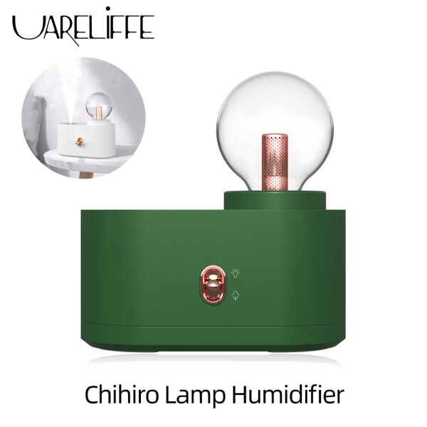 Bảng giá Uareliffe Chihiro Lamp Humidifier 350ml Water Tank USB Wireless Spray Device Household 2 Spray Modes Adjustable Low Noise Mist Maker With Light Night Portable Small Water Replenishment Meter For Car Travel Home Office