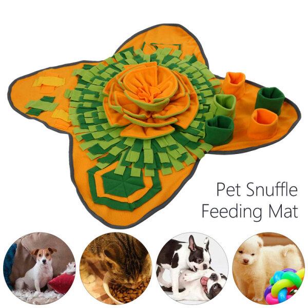 Dog PET PUPPY đồ chơi snuffle Mat có thể giặt Câu Đố Lớn đánh hơi mũi đào tạo Pad trò chơi tương tác cho nhàm chán