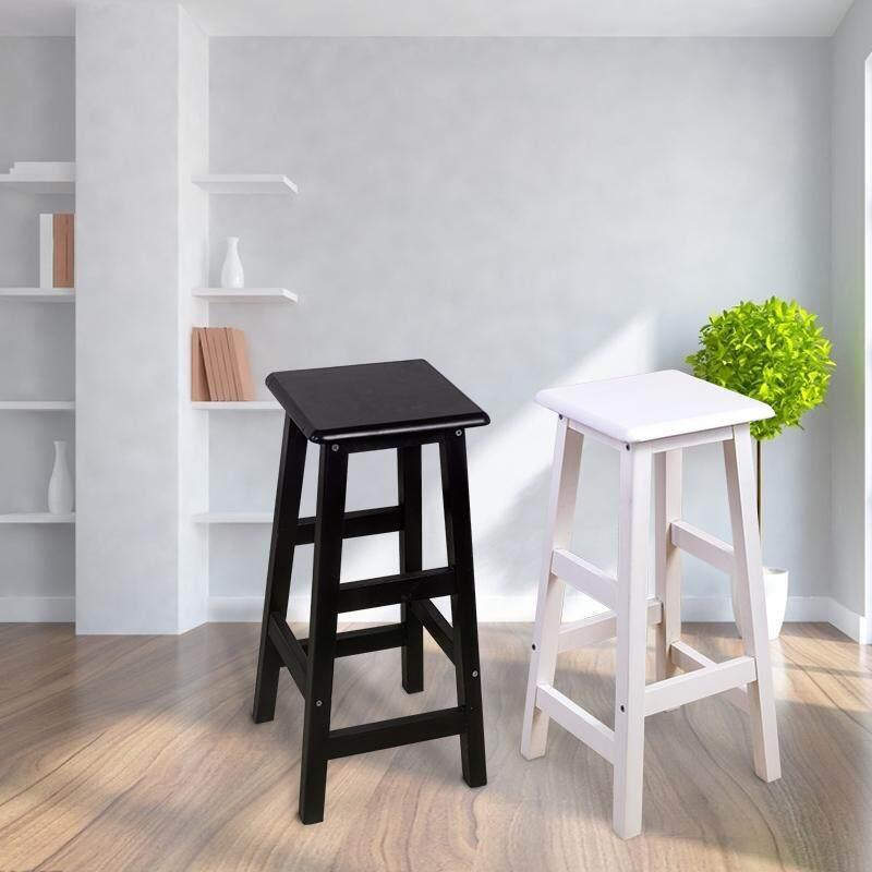 【New pricing - 15% OFF/ Damaged Return Guarantee】Black square bar chair simple bar stool bar stool bar stool high stool front desk bar table and chairs high chair solid wood