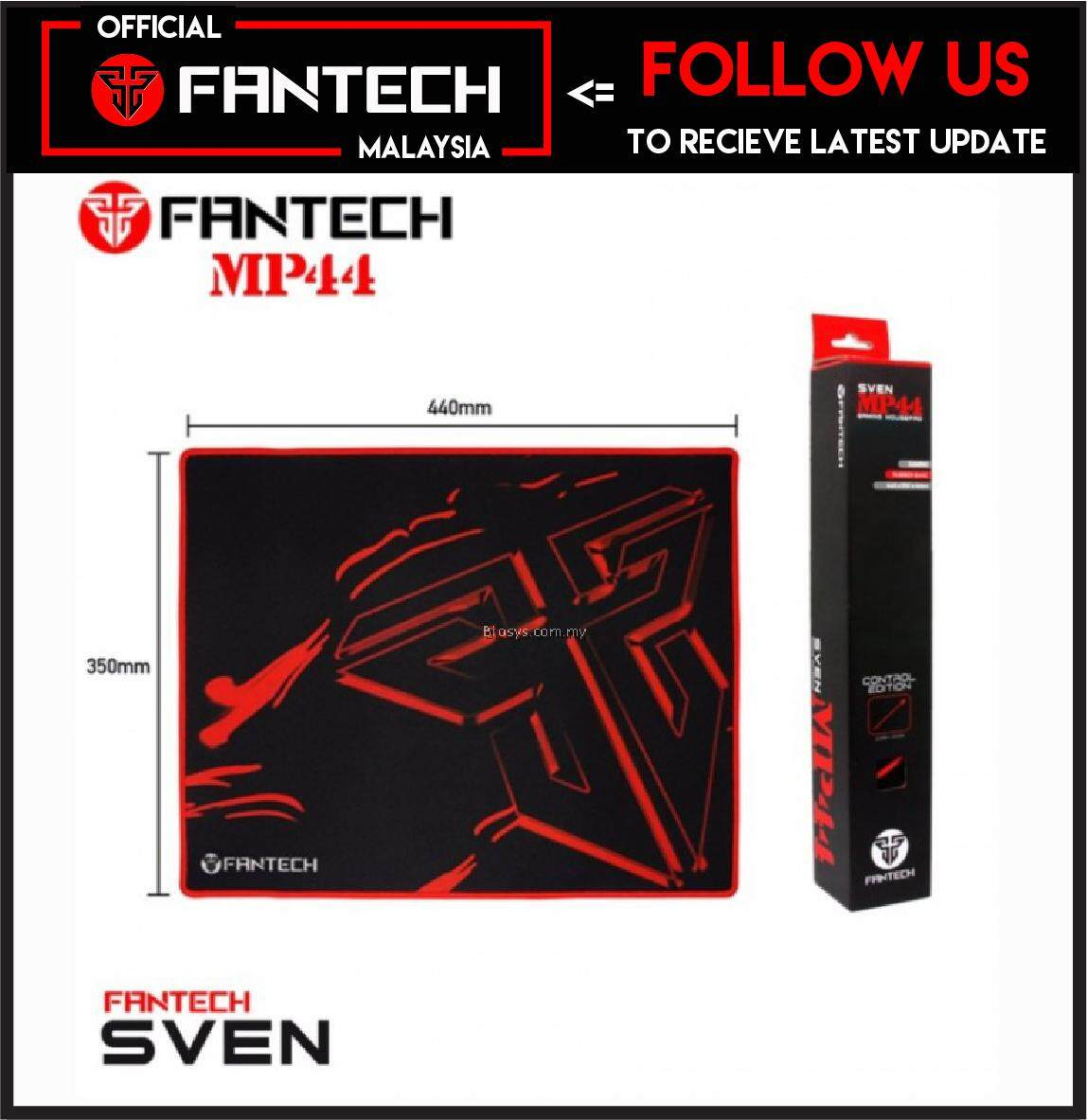 100% Original Fantech SVEN MP44 Extra Size High Non-Slip Base Gaming Mouse Pad with Edge Sewed (44cm x33cm) Malaysia