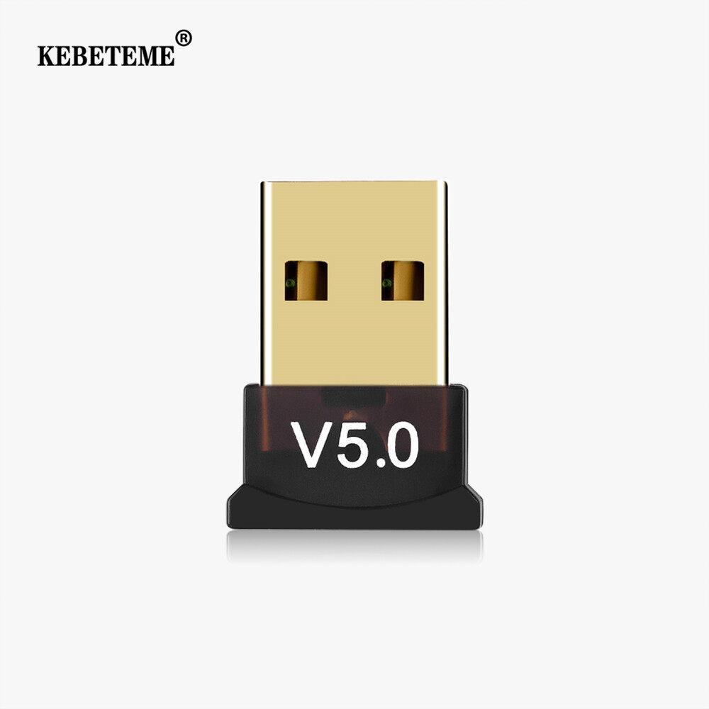 Giá Kebeteme USB Bluetooth 5.0 Bộ Chuyển Đổi Đầu Thu Không Dây USB Mini Bluetooth Dongle Cho Chuột Laptop Bàn Phím Phụ Kiện