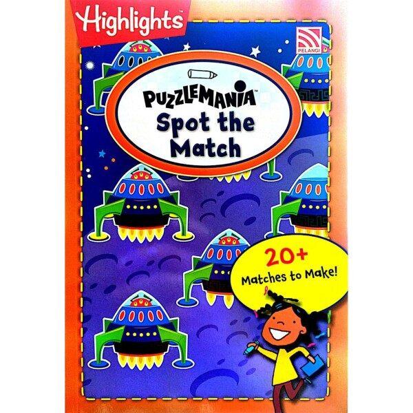 Highlights PUZZLE MANIA Travel-SizeFun on the Go: Spot the Match | Pelangi books Malaysia