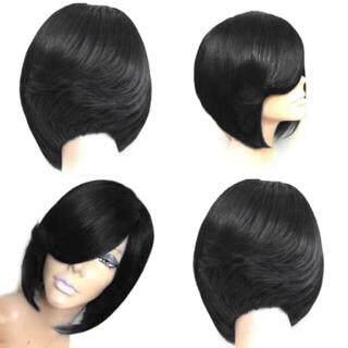 Fashion Wanita Sexy Wig Penuh Wig Pendek Perlindungan Menyeluruh Wig Poni Gaya Wig Keren thumbnail