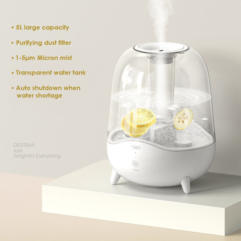 Xiaomi 5L Aroma Diffuser Ultrasonic Air Humidifier Essential Oil Mist Maker Purifying Dust Filter Singapore