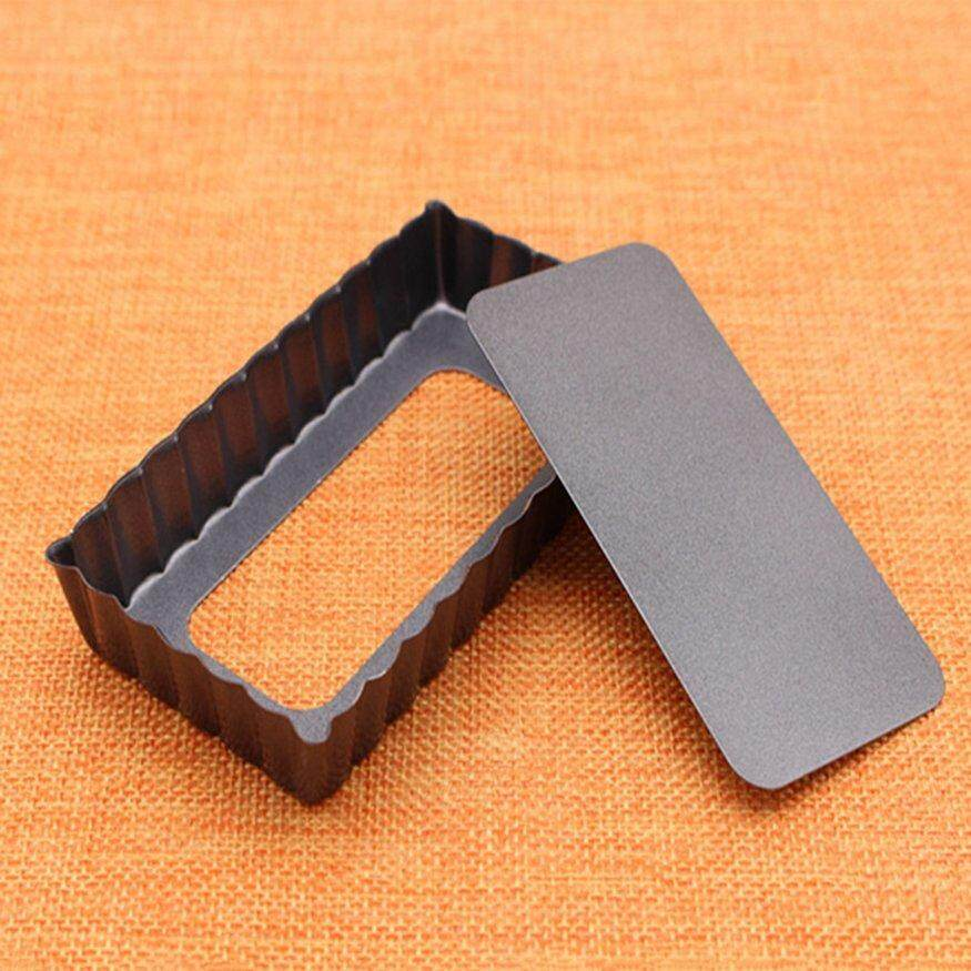 Top ข้อเสนอรูปสี่เหลี่ยมผืนผ้า Laced Quiche กระทะแบบทอดไม่ติดกระทะรองเท้าใส่วิ่ง Bakeware ด้านล่างแบบถอดได้ By Legendseller.