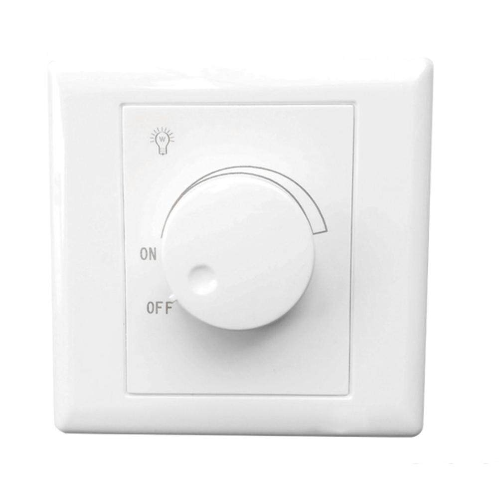 No Jitter Adjustable Silicon Controlled Led Home For Light Bulb Wall Mounted Dimmer Switch
