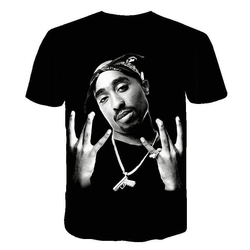 53873f59715b Product details of 2019 new size Men Women Print Tupac 2pac T-shirt Short  sleeve O-Neck Tshirt Hip Hop Swag harajuku Streetwear T shirt