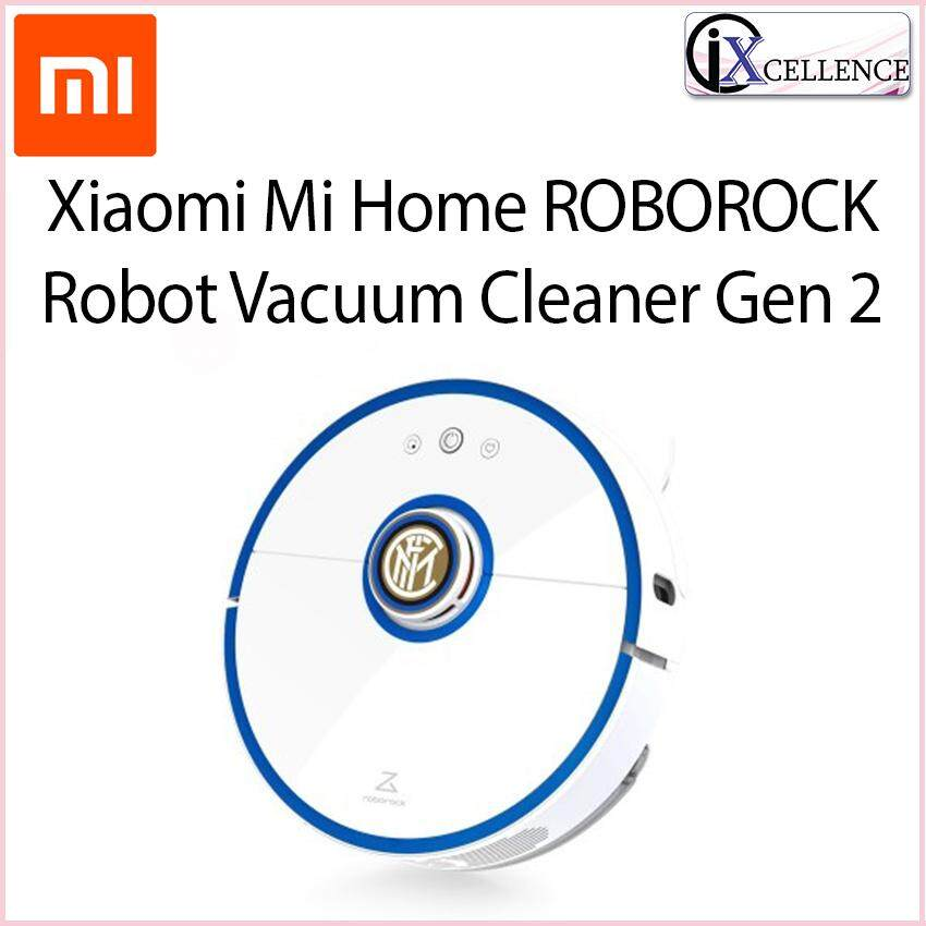 [IX] Xiaomi Mi Home ROBOROCK S50 Robot Vacuum with Mop Cleaner Gen 2 (Blue)