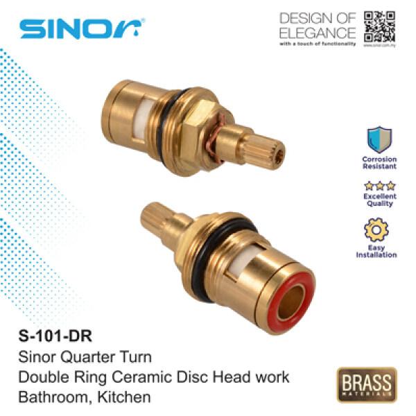 Sinor S-101-DR Quarter Turn Double Ring Ceramic Disc Head work (2pcs)