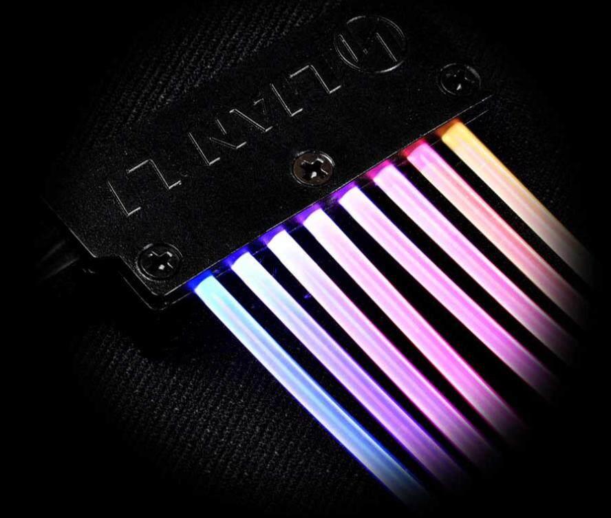 Lian Li 8+8PIN PCI-E RGB CABLE Malaysia