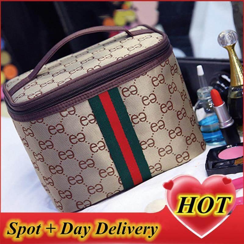 Túi tote đựng đồ trang điểm size lớn, tui dung do trang diem - Johnn Store【READY STOCK - High Quality 】 nhập khẩu