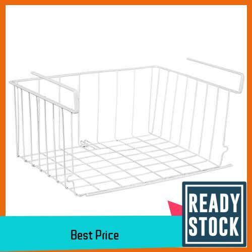 Under Shelf Basket Stackable Hanging Basket Hanging Metal Wire Storage Basket