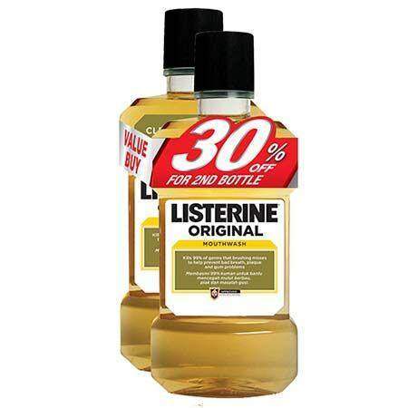 Listerine Original (750ml X 2) By Premier Pharmacy.