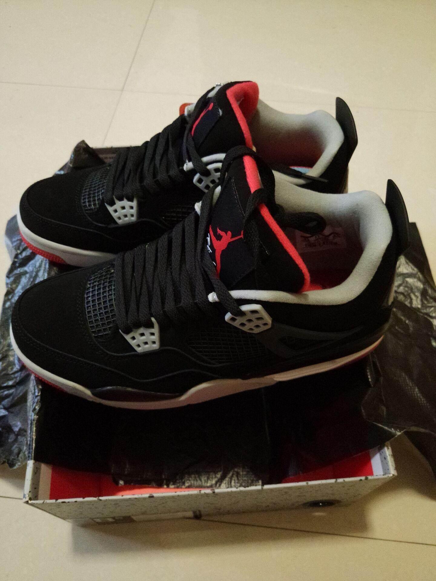 f9327a84fef Nike Eminem x Carhartt x Air Jordan 4 Canvas In Black Gray White original    Lazada