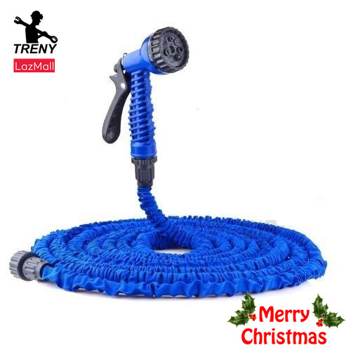TRENY OEM Expandable X Hose /Spray Nozzle 15M (the Initial length 5M)