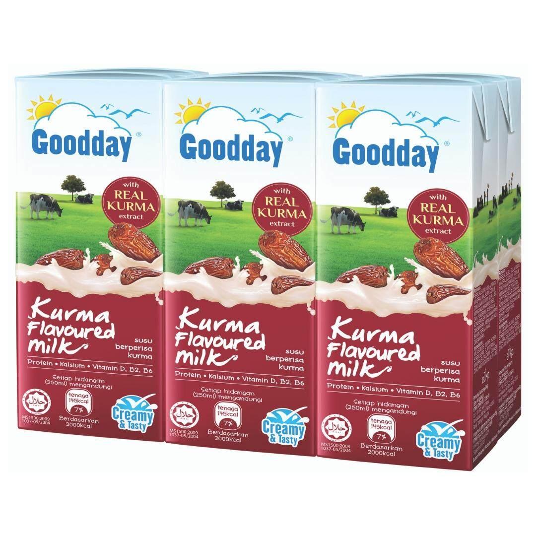 Goodday Uht Milk 200ml X 6 - Kurma By Etika.