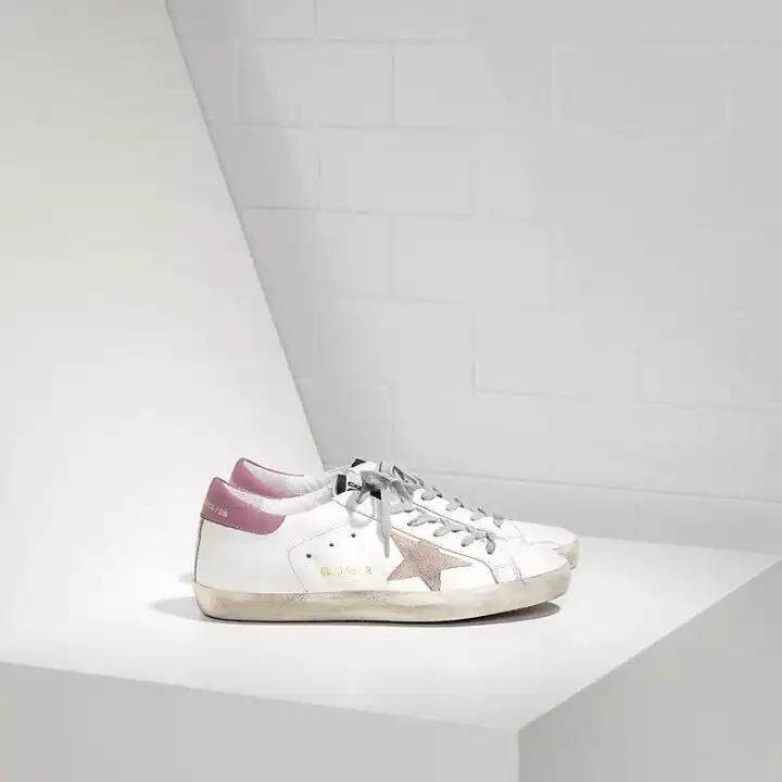 7283c2f95b Fashion 2018 Golden Goose Deluxe Brand Superstar lady Shoes White Pink Golden  Goose Francy wearable Sneakers