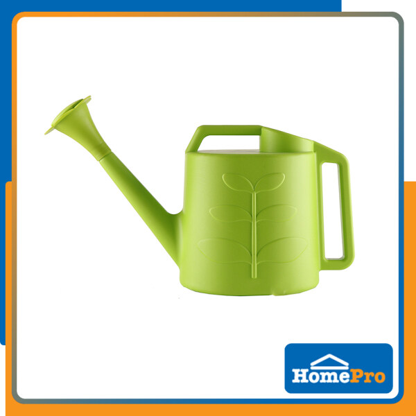 HomePro SPRING Watering Can Leaf 6L Green