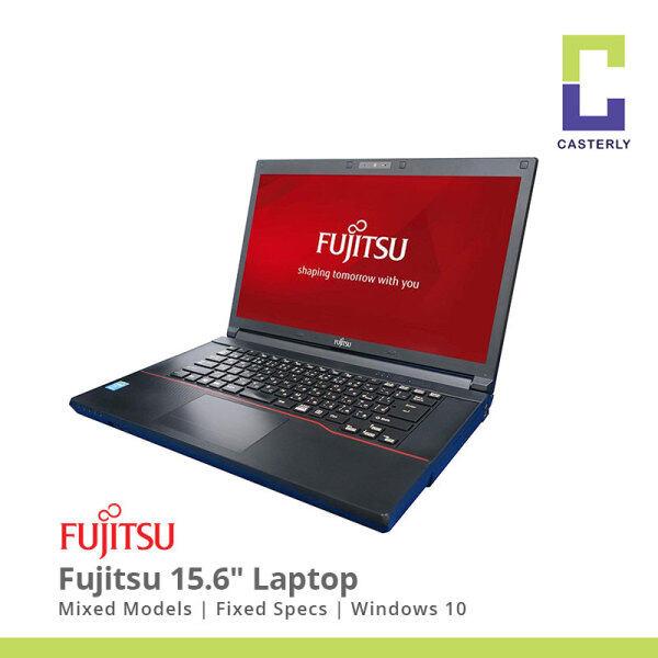 (Refurbished) Various Fujitsu 15.6 Laptop FREE WiFi Adapter/NO Webcam/Japanese Kb/Battery 1hr+/W10 Pro/1M Warranty Malaysia