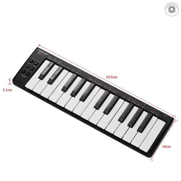 ☞ nektar SE25 Mini 25-Key USB MIDI Keyboard Controller Velocity Sensitive USB Powered Malaysia