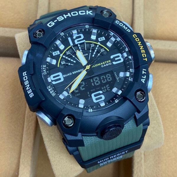 G_SHOC_K LIMITED EDITION DUAL TIME WITH STEEL ORI BOX SHOCKING DEAL Malaysia