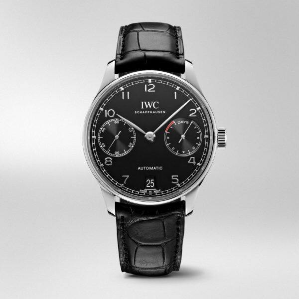 GK814 ZF Factory V5 IWC_Portugieser IW500703 7 Days Power Reserve SS Black Dial Swiss 52010 Malaysia